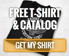 Free Catalog and Shirt